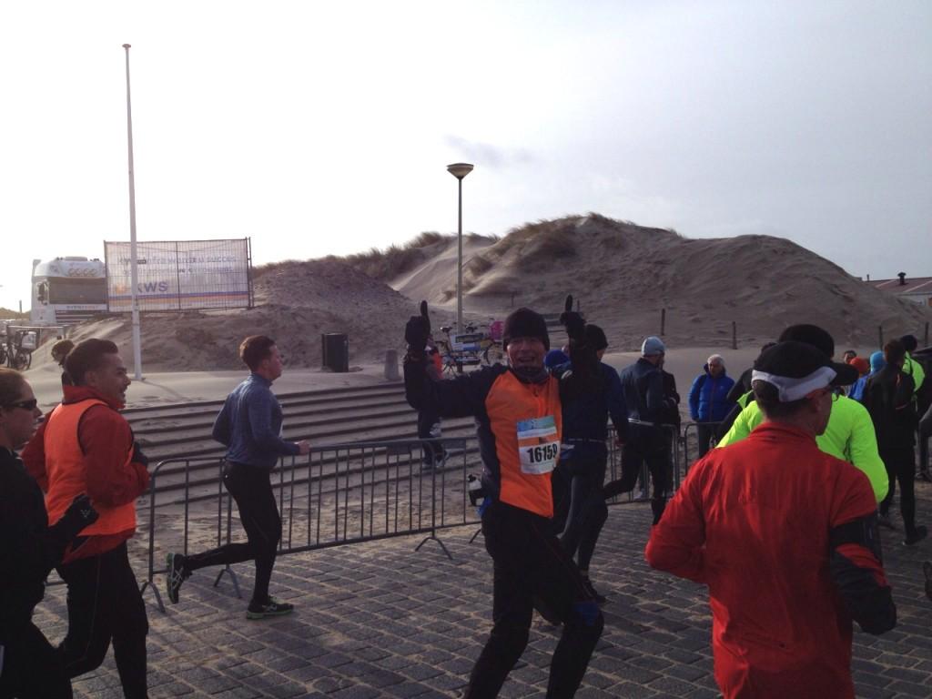 Mijn eerste Halve Marathon Egmond.