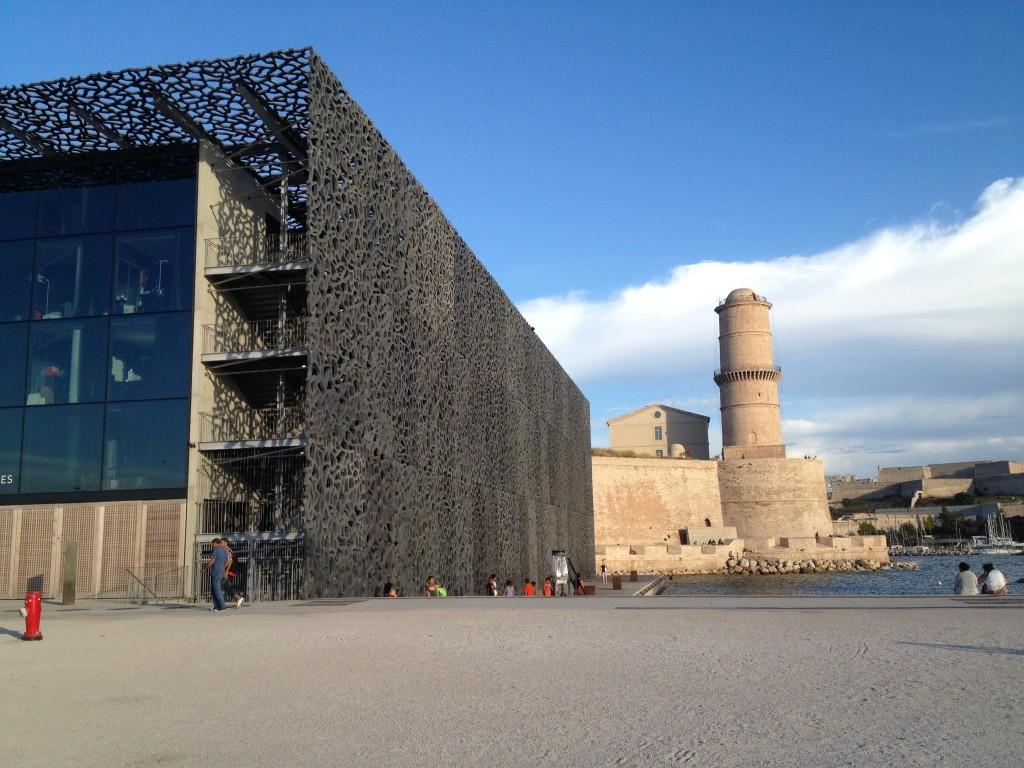 Het MuCEM in Marseille, een permanente brug tussen Europa en de andere kant van de Middellandse Zee