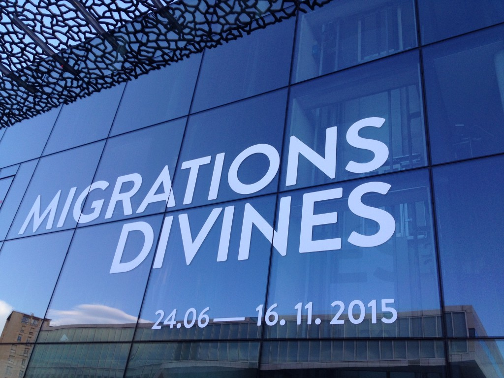 Migration Divines in MuCEM, Marseille