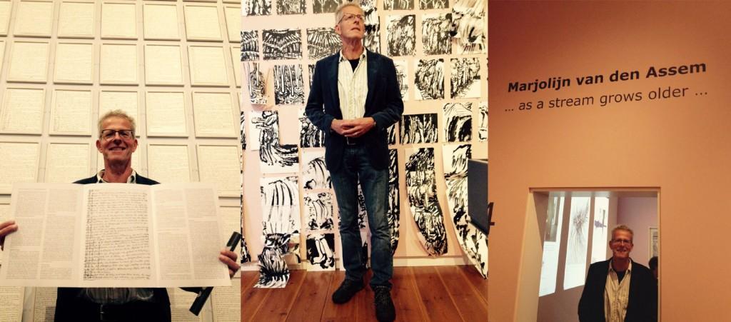 Marc Couwenbergh schreef de publicatie bij de tentoonstelling '... as a stream grows older...' in Museum Gouda