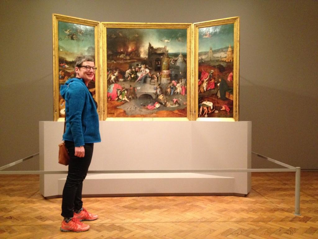 De Verzoeking van Antonius, Jeroen Bosch ca. 1500 in Museu Nacional de Arte Antiga.