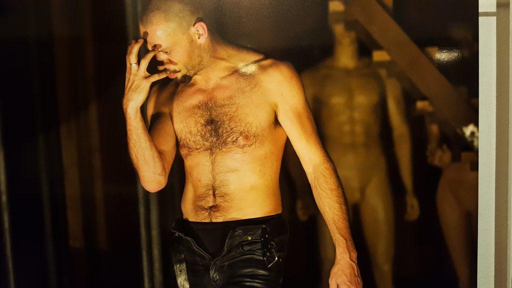 David Geysen als Hamlet, de laatste voorstelling van Toneelgroep De Appel.