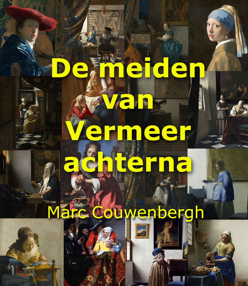 De meiden van Vermeer achterna inNederlands Dagblad; paginagrote bespreking van het boek door Arjan Glas.
