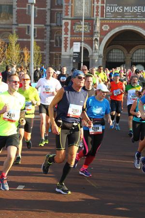 Na het Rijksmuseum in mijn eerste marathon, Marc Couwenbergh, 3707.