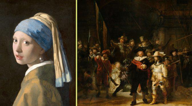 Meisje met de parel versus De Nachtwacht als pronkstuk van Nederland