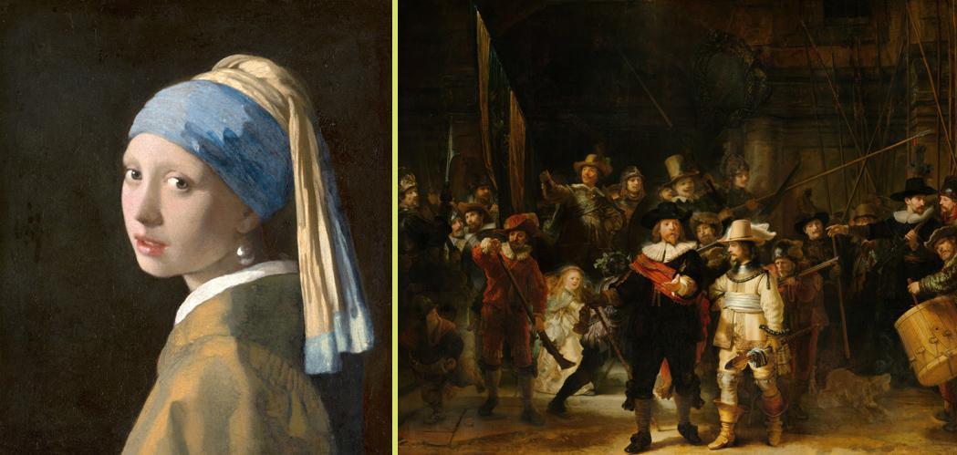 Meisje met de parel versus De Nachtwacht als pronkstuk van Nederland. Deze twee schilderijen voeren de strijd om de titel Pronkstuk van Nederland in de categorie Kunst. Johannes Vermeer versus Rembrandt. De twee grootste meesters van de Hollandse Schilderkunst van de zeventiende eeuw, maar een groter verschil tussen twee kunstenaars is nauwelijks denkbaar.