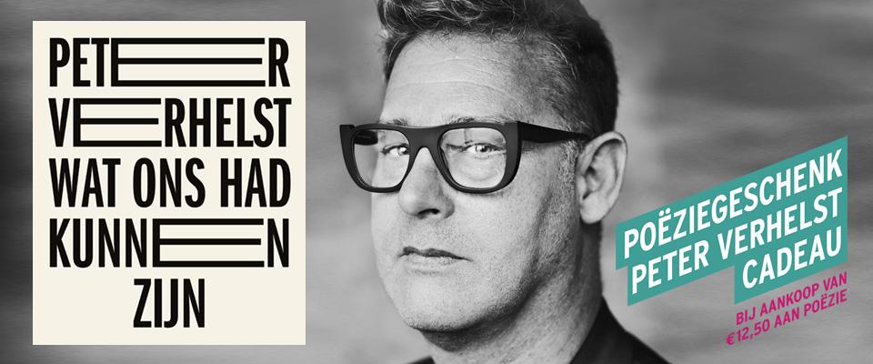 Peter Verhelst schreef het Poëziegeschenk 2018: Wat had ons had kunnen zijn.