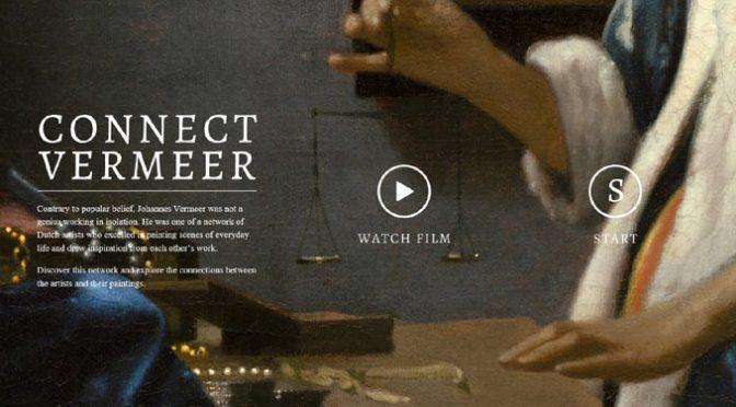 Connect Vermeer – Ontdek het netwerk tussen Johannes Vermeer en tijdgenoten