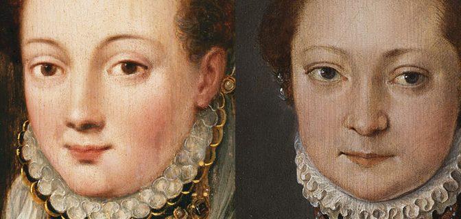 Anna van Bueren versus de Mona Lisa van Pieter Pourbus meester-schilder uit Gouda