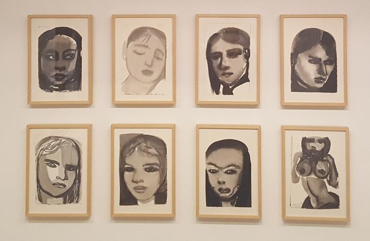 Die Muzes van Marlene Dumas uit 199