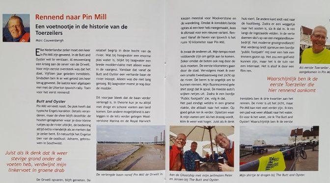 Rennend naar Pin Mill